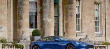 Aston Martin Vanquish in Dartmore