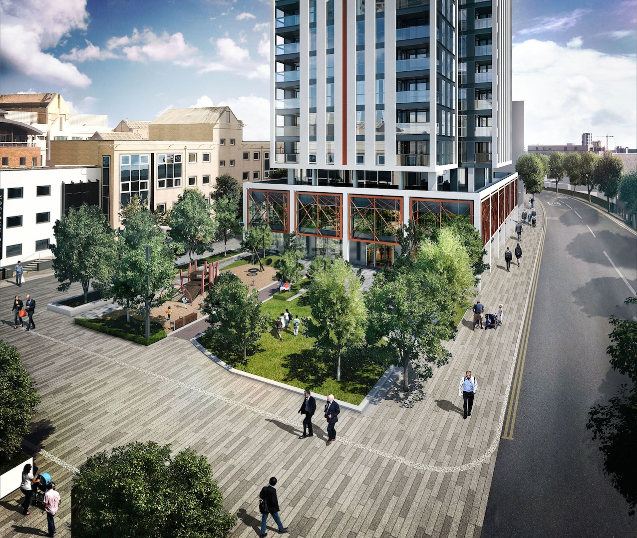 Green light given to £230m Docklands tower