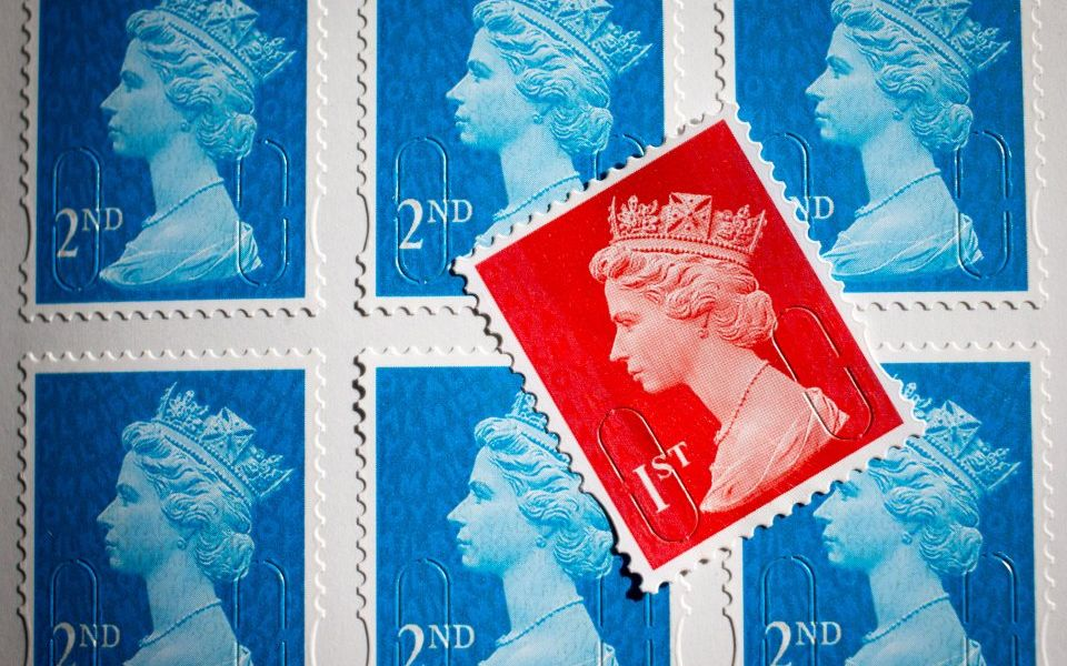 Royal Mail increases price of first and second-class stamps