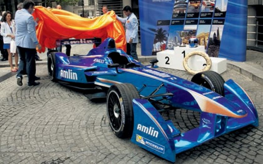 Amlin's Formula-E race car partnership puts pedal to the metal