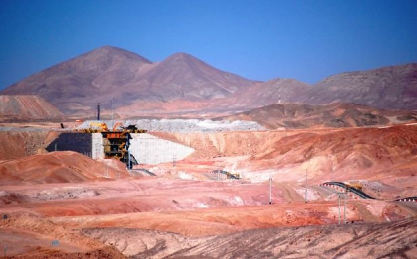 Antofagasta targets unchanged by poor quarterly production