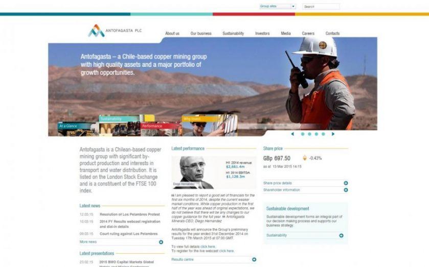 Antofagasta in water deal with Los Pelambres mine protestors