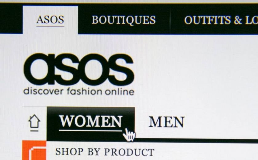 e83bdaa0eb7 Asos share price opens lower after
