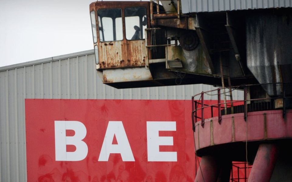 BAE Systems evacuates workers at nuclear submarine site after bomb scare