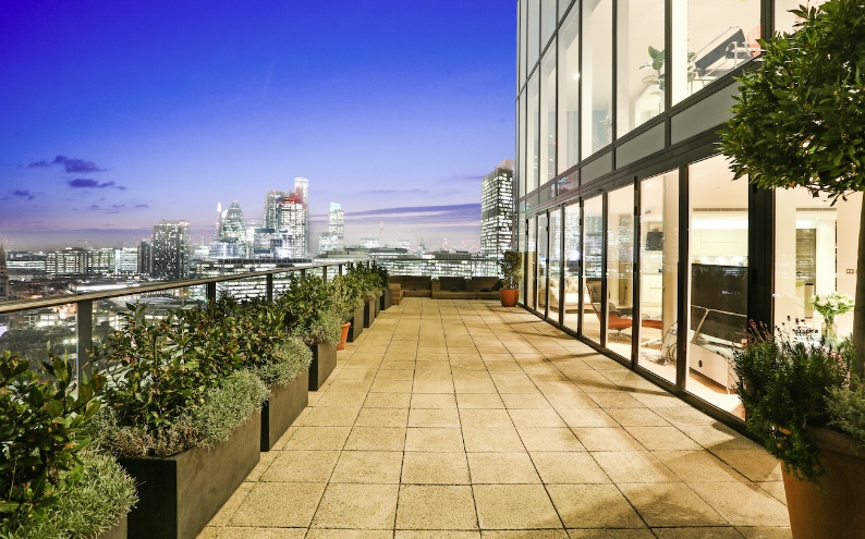 Property of the Week: This Shoreditch penthouse has south-facing City views and is next door to some serious barbecue