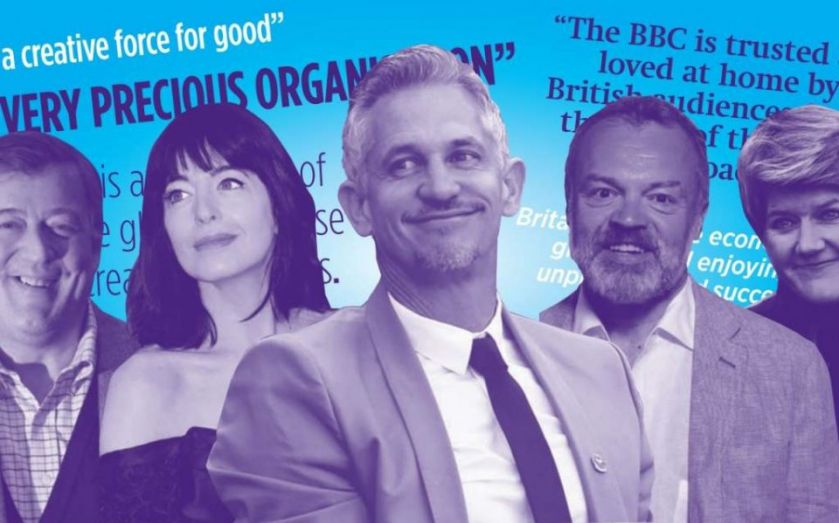 """BBC shows the strain over Tory reform plan: """"Aunty has very much pulled up her sleeves"""""""