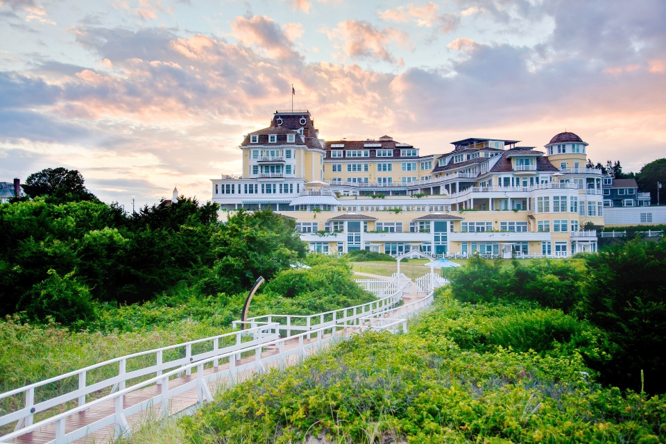 One of the USA's most iconic hotels, Ocean House is famous for its timeless coastal experience dating back to the Victorian age