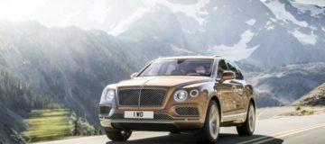Bentley unveils