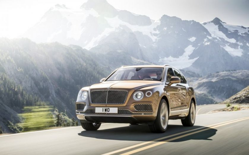 "Bentley unveils ""world's most exclusive SUV"", the Bentayga"