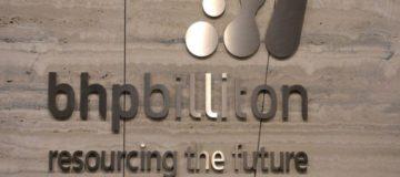 BHP Billiton share price up six per cent despite pre-tax profits falling 61.7 per cent year-on-year