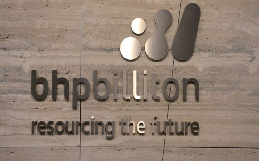 BHP Billiton share price up six per cent despite pre-tax profits falling 61.7 per cent year-on-year