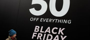 Online sales are set to hit record levels on Black Friday as high street footfall declines