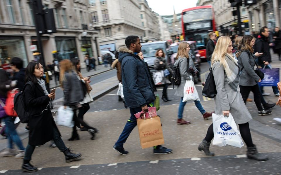 UK retail sales see biggest drop for 10 years in June says Confederation of British Industry (CBI)