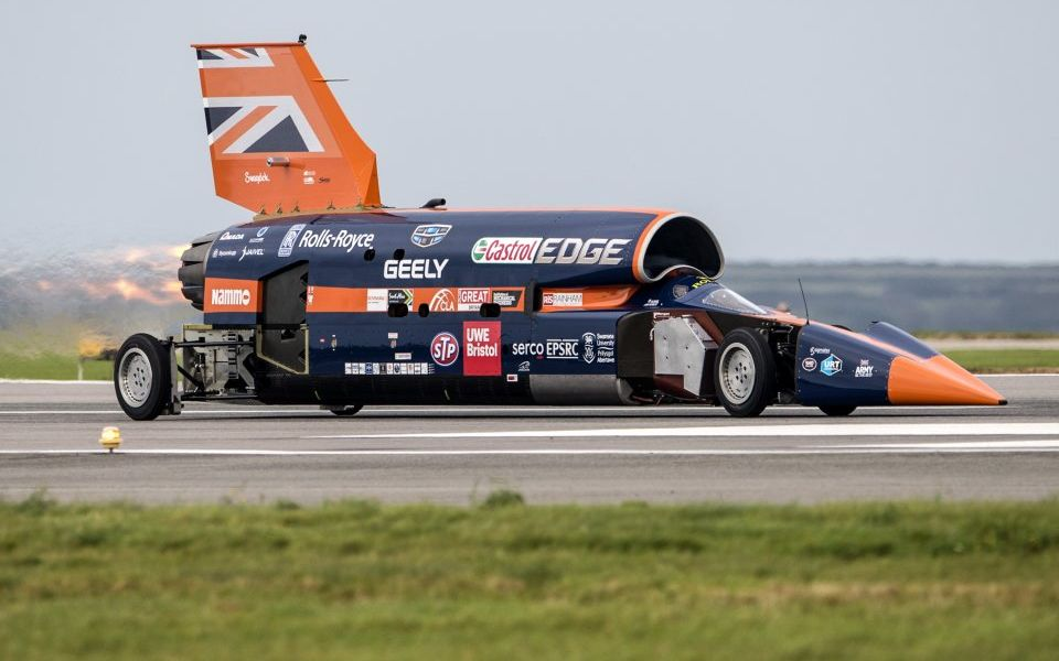 Land Speed Record >> Land Speed Record Chasing Bloodhound Car Project Goes Into