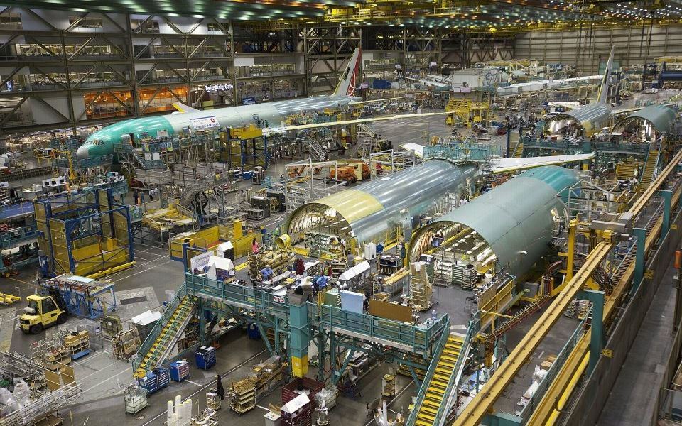 Losing height: Boeing suppliers' shares take a hit after plane maker announces 737 Max production
