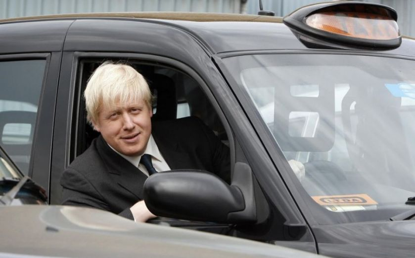 """London mayor Boris Johnson told black cab driver to """"f*** off and die"""""""