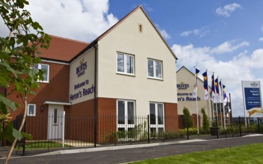 Bovis Homes house prices expected to rise 10 pc in 2014