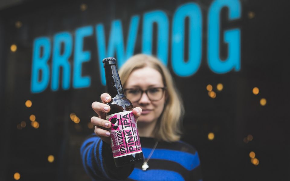 BrewDog mocks sexist advertising with sexist advertising