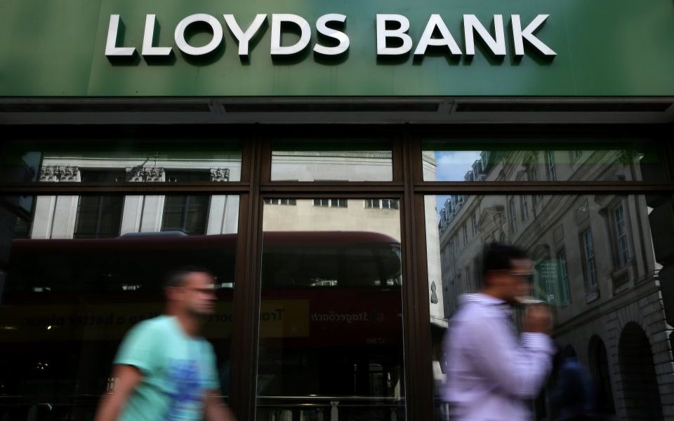 Lloyds Bank stars as FTSE 100 rockets in Q1