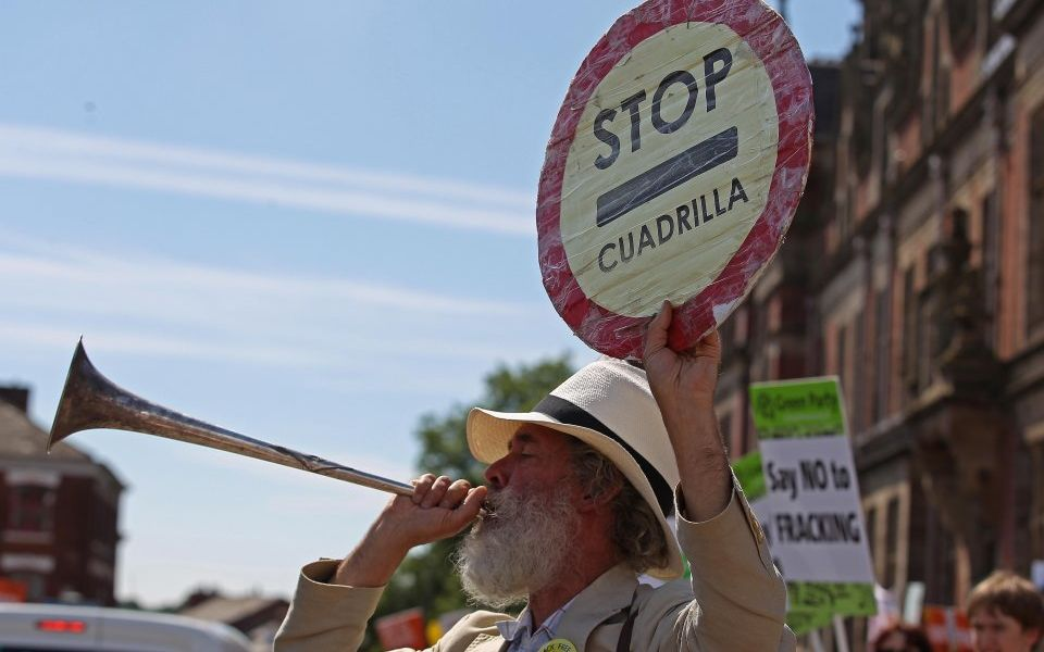 Government blocks Cuadrilla from fracking at second site in Lancashire