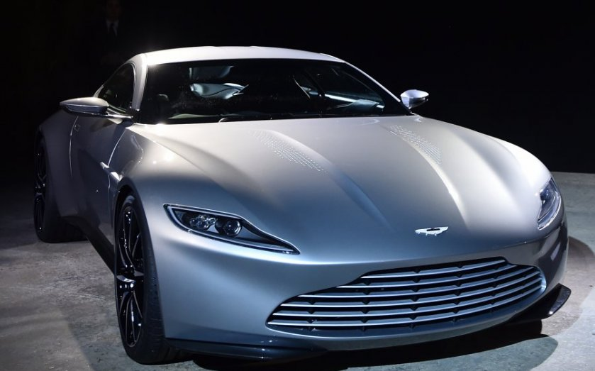 James Bond Spectre Auction Aston Martin Db10 Under The