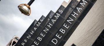 Shares in Debenhams dive as woes show no sign of abating