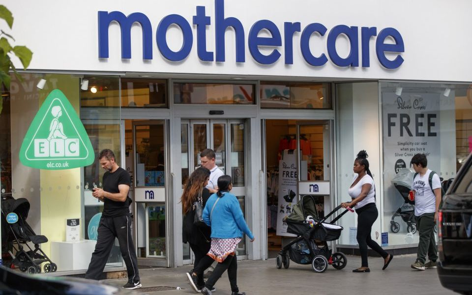 Mothercare shares fall as it puts the media in the firing line after losses widen in insolvency battle