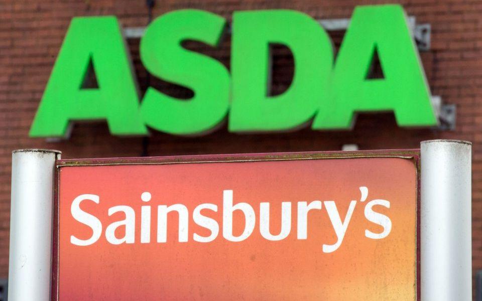 Sainsbury's slips behind supermarket rivals after Asda merger blocked