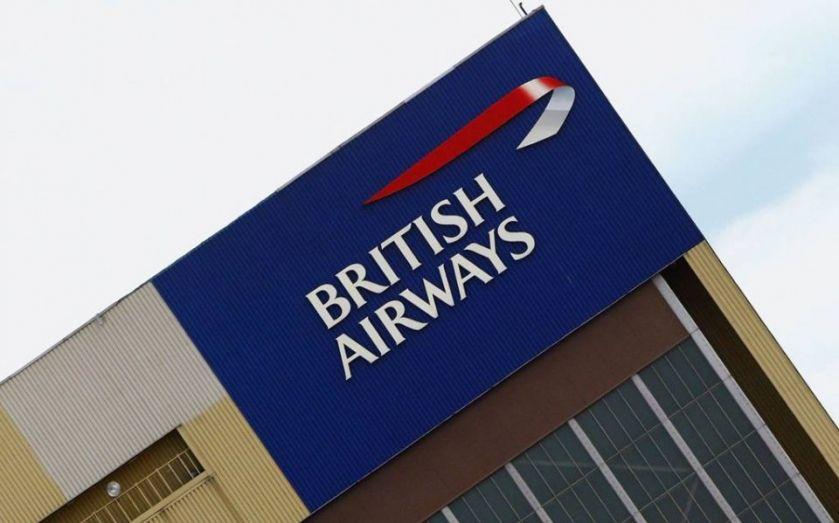 British Airways flight BA115 lands in Heathrow after
