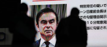 Ex-Nissan chairman Carlos Ghosn claims innocence in Tokyo court appearance