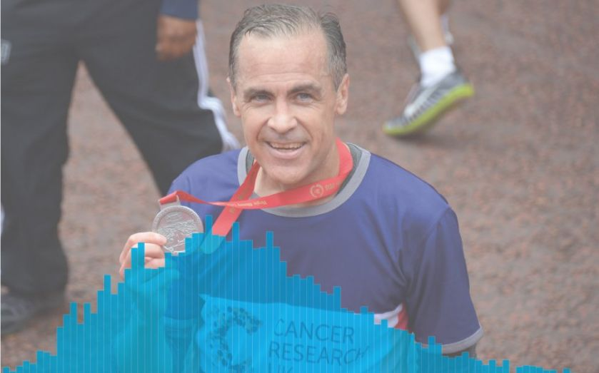 London Marathon 2015: After Mark Carney thrashed Barclays boss Antony Jenkins, how well does your race time compare?