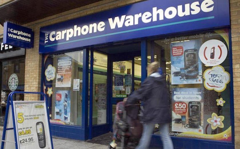 The digital high street: Dixons and Carphone Warehouse