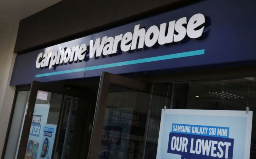 Dixons Carphone share price rises after announcing US
