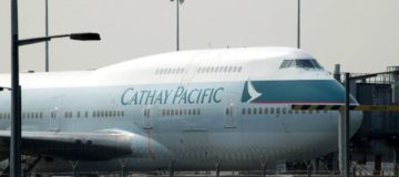 Cathay Pacific chairman John Slosar has resigned