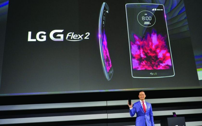 CES 2015: LG bets on the internet of things and curvy phones for your pocket