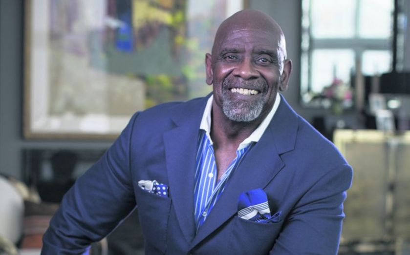Doing what today chris gardner is What does