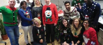 Christmas jumper day turned out to be something of a cracker