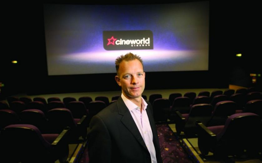 Cineworld finance boss Philip Bowcock on the relevance of cinema in the digital age
