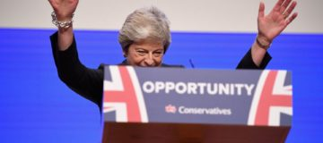 The Conservative party conference was more SOS than Dancing Queen