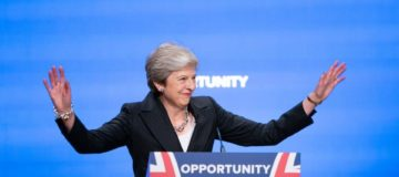 Theresa May urges Labour voters to 'look beyond' party labels and back her plan for post-Brexit Britain