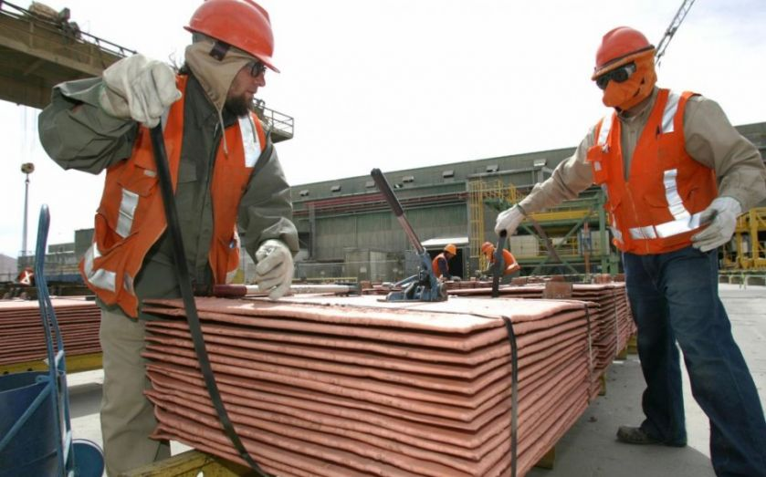 Antofagasta copper production hit by protests at Chilean mine