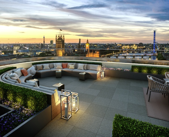 How much is your property's view of the London skyline worth and are some landmarks worth more than others?