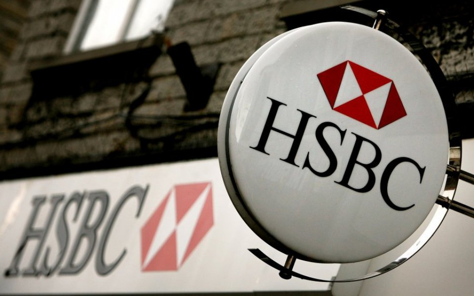 HSBC share price down sinks despite smashes expectations and