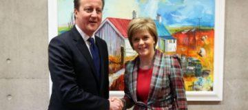 SNPbites back at PM after David Cameron vows to halt second Scottish independence referendum