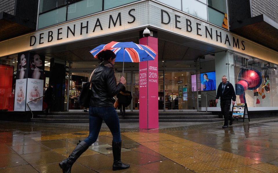 Debenhams to close 22 stores in 2020 as lenders warn of 1,200 job losses