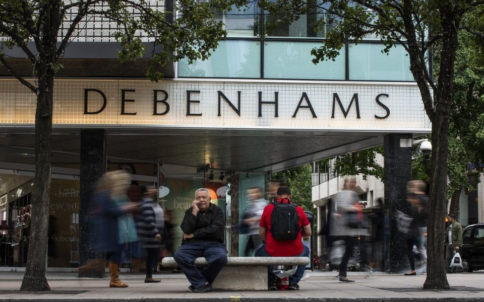 Debenhams share price plunges as investors fear disappointing Christmas trading