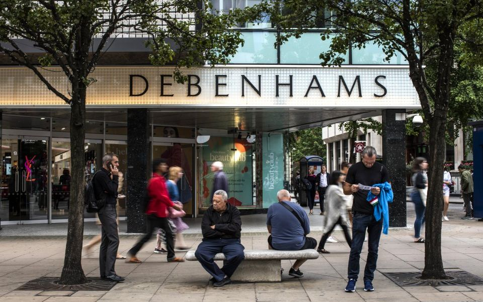 Mike Ashley could use a lesson in subtlety after Debenhams