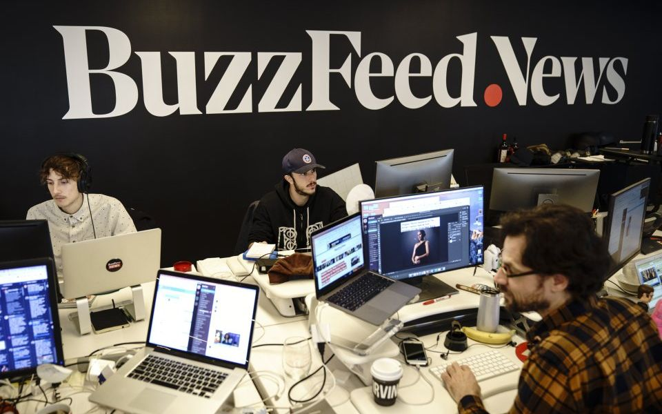 Buzzfeed and Verizon plan to slash hundreds of jobs in grim day for digital media