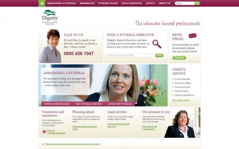 Funerals group Dignity in £38m deal to expand with Laurel purchase