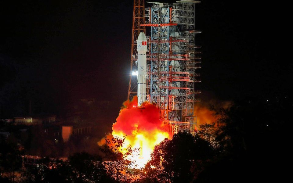 China successfully lands space probe on the dark side of the moon